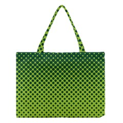 Halftone Circle Background Dot Medium Tote Bag by Nexatart
