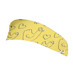 Chicken Chick Pattern Wallpaper Stretchable Headband