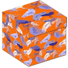 Seagull Gulls Coastal Bird Bird Storage Stool 12   by Nexatart