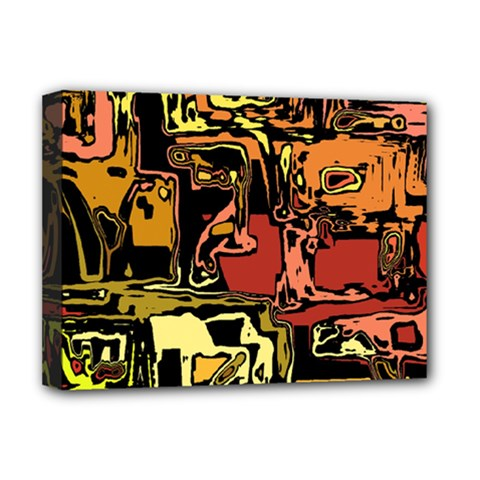 Modern Abstract 47c Deluxe Canvas 16  X 12   by MoreColorsinLife