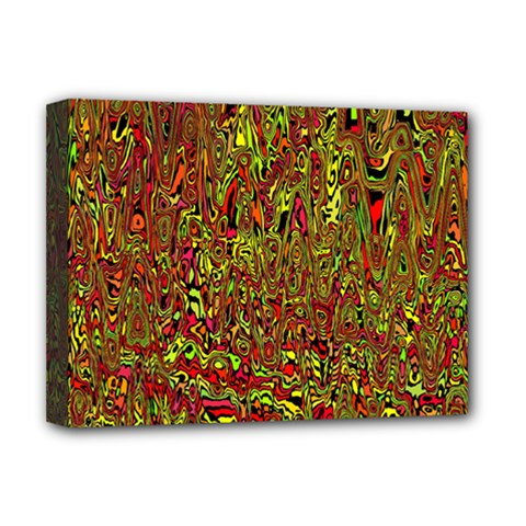 Modern Abstract 45c Deluxe Canvas 16  X 12   by MoreColorsinLife