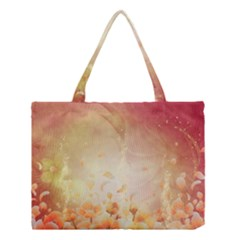 Flower Power, Cherry Blossom Medium Tote Bag by FantasyWorld7