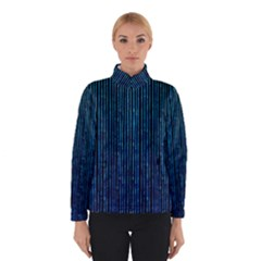 Stylish Abstract Blue Strips Winterwear by gatterwe