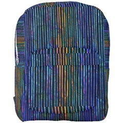 Stylish Colorful Strips Full Print Backpack by gatterwe