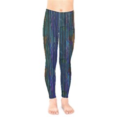 Stylish Colorful Strips Kids  Legging by gatterwe