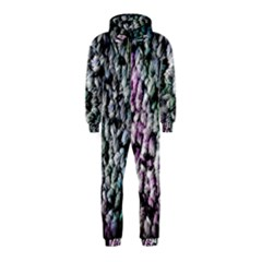 Surface Light Texture Rainbow  Hooded Jumpsuit (kids) by amphoto