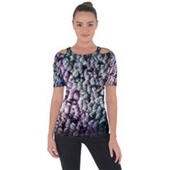 Surface Light Texture Rainbow  Short Sleeve Top by amphoto