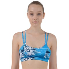 Star Cube Sphere Lines Rays Vector  Line Them Up Sports Bra