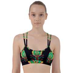 Rain Meets Sun In Soul And Mind Line Them Up Sports Bra by pepitasart