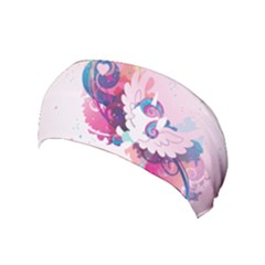Flurry Heart Stream Wall  Yoga Headband by amphoto