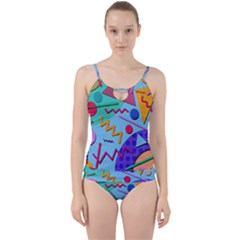 Memphis #10 Cut Out Top Tankini Set by RockettGraphics