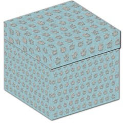 Texture Background Beige Grey Blue Storage Stool 12