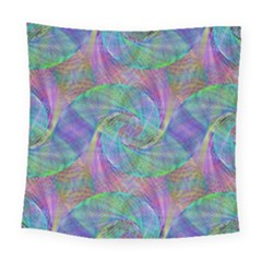 Spiral Pattern Swirl Pattern Square Tapestry (large) by Nexatart