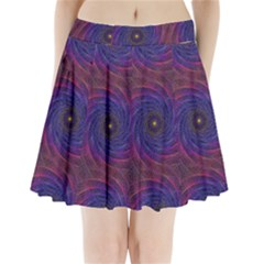 Pattern Seamless Repeat Spiral Pleated Mini Skirt by Nexatart