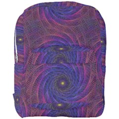 Pattern Seamless Repeat Spiral Full Print Backpack by Nexatart
