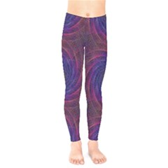 Pattern Seamless Repeat Spiral Kids  Legging