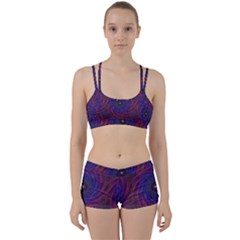 Pattern Seamless Repeat Spiral Women s Sports Set