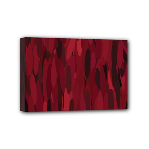 Abstract 1 Mini Canvas 6  X 4  by tarastyle