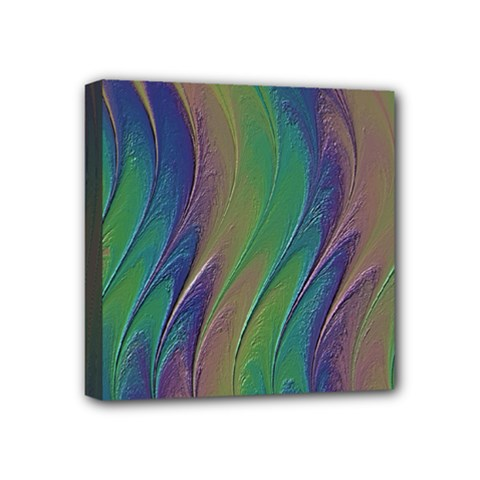 Texture Abstract Background Mini Canvas 4  X 4