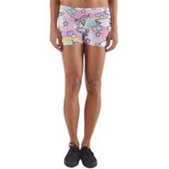 Unicorn Rainbow Yoga Shorts