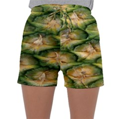 Pineapple Pattern Sleepwear Shorts