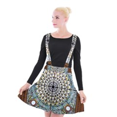 Stained Glass Window Library Of Congress Suspender Skater Skirt