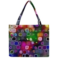 Psychedelic Lights 2 Mini Tote Bag by MoreColorsinLife