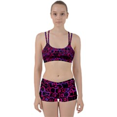Psychedelic Lights 3 Women s Sports Set