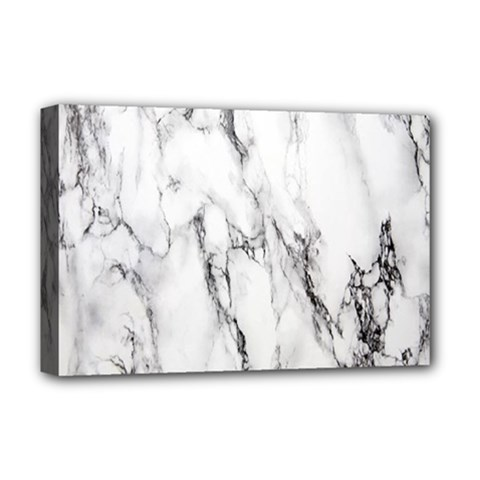 Marble Granite Pattern And Texture Deluxe Canvas 18  X 12   by Nexatart
