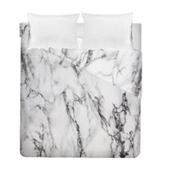 Marble Granite Pattern And Texture Duvet Cover Double Side (full/ Double Size)