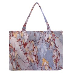 Marble Pattern Zipper Medium Tote Bag by Nexatart