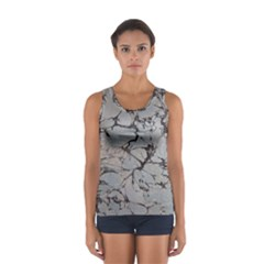 Slate Marble Texture Sport Tank Top