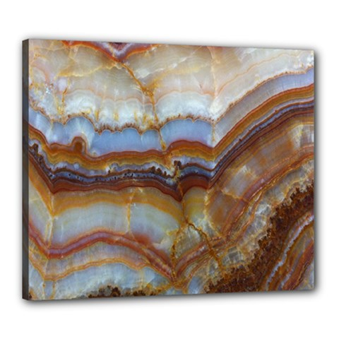Wall Marble Pattern Texture Canvas 24  X 20  by Nexatart