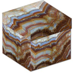 Wall Marble Pattern Texture Storage Stool 12