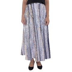 Texture Structure Marble Surface Background Flared Maxi Skirt