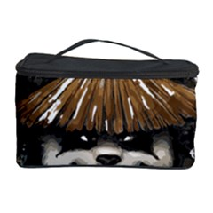 Warrior Panda T Shirt Cosmetic Storage Case by AmeeaDesign