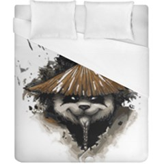 Warrior Panda T Shirt Duvet Cover (california King Size) by AmeeaDesign