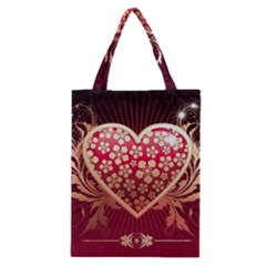 Heart Patterns Lines  Classic Tote Bag by amphoto