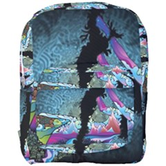 Girl Dress Fly  Full Print Backpack by amphoto