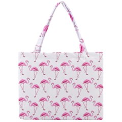 Flamingo Pattern Mini Tote Bag by Valentinaart