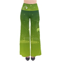 Patterns Green Background  Pants by amphoto