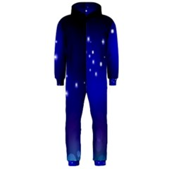 Point Way Glitter Hooded Jumpsuit (men)  by amphoto