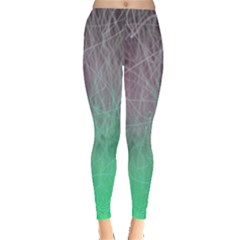 Line Light Surface  Leggings  by amphoto