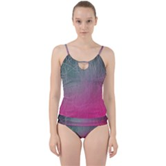 Line Shadows Light 3840x2400 Cut Out Top Tankini Set by amphoto