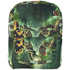 Leaves Explosion Line  Full Print Backpack by amphoto