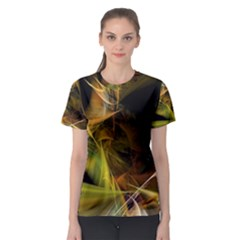 Lines Circles Bright  Women s Sport Mesh Tee by amphoto