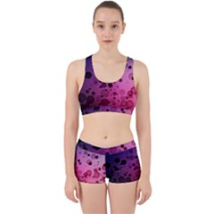 Circles Surface Light  Work It Out Sports Bra Set