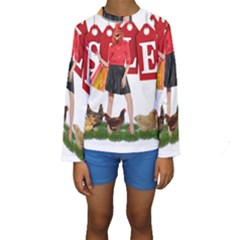 Sale Kids  Long Sleeve Swimwear