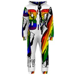 Lgbt New York Hooded Jumpsuit (ladies)