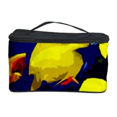 Tropical Fish Cosmetic Storage Case by Valentinaart